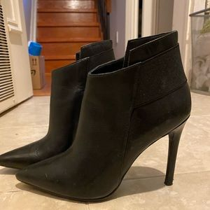 Guess Black Booties Size 6